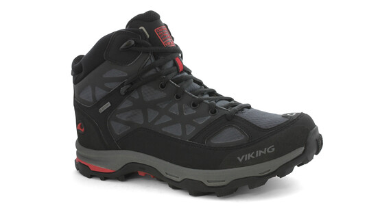 Viking Ascent GTX Shoes Junior black/red